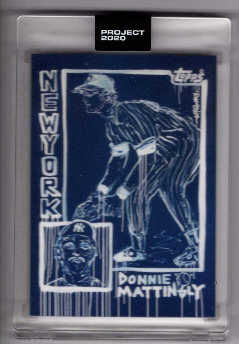 2020 Topps Project 2020 by Gregory Siff #69 Don Mattingly //7900 Yankees