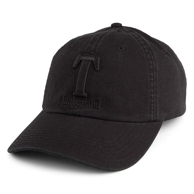 Timberland Gorra de béisbol Soft de algodón Lavado Negro ...