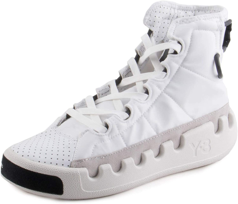 Muscular Para editar Predecir  Amazon.com | adidas Y-3 by Yohji Yamamoto Y-3 Kasabaru Footwear White/ Footwear White/Core Black UK 8 (US Men's 8.5, US Women's 9.5) | Fashion  Sneakers