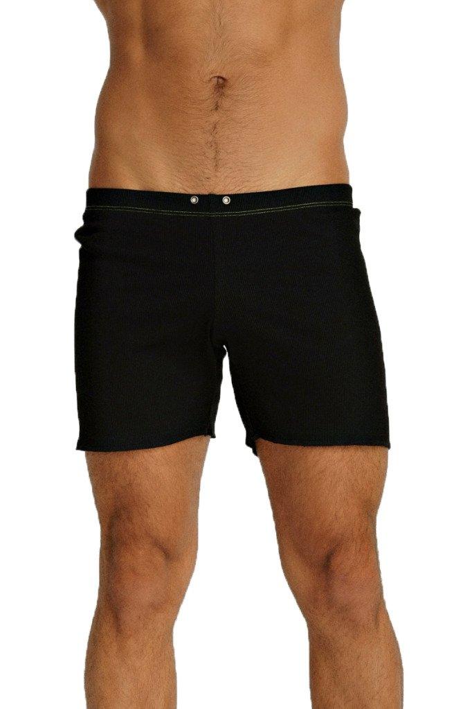 4-rth メンズ 半ズボン (並行輸入) B008W1AD7O M|ブラック ブラック M
