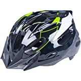 BeBeFun Safety Adjustable Size Kids Babies Bike Multi-Sports Helmet for Boy 3-7 Years Old Lightning Theme with removing Visor.