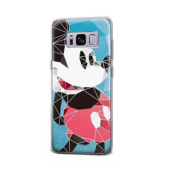 the best attitude 8aa45 1affb GSPSTORE Galaxy S8 Case Disney Cartoon Mickey Minnie Mouse Soft Transparent  TPU Protection Cover For Samsung Galaxy S8 #12