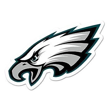 e1a956ea WinCraft NFL Philadelphia Eagles Logo on The GoGo Decals, Team Color, One  Size