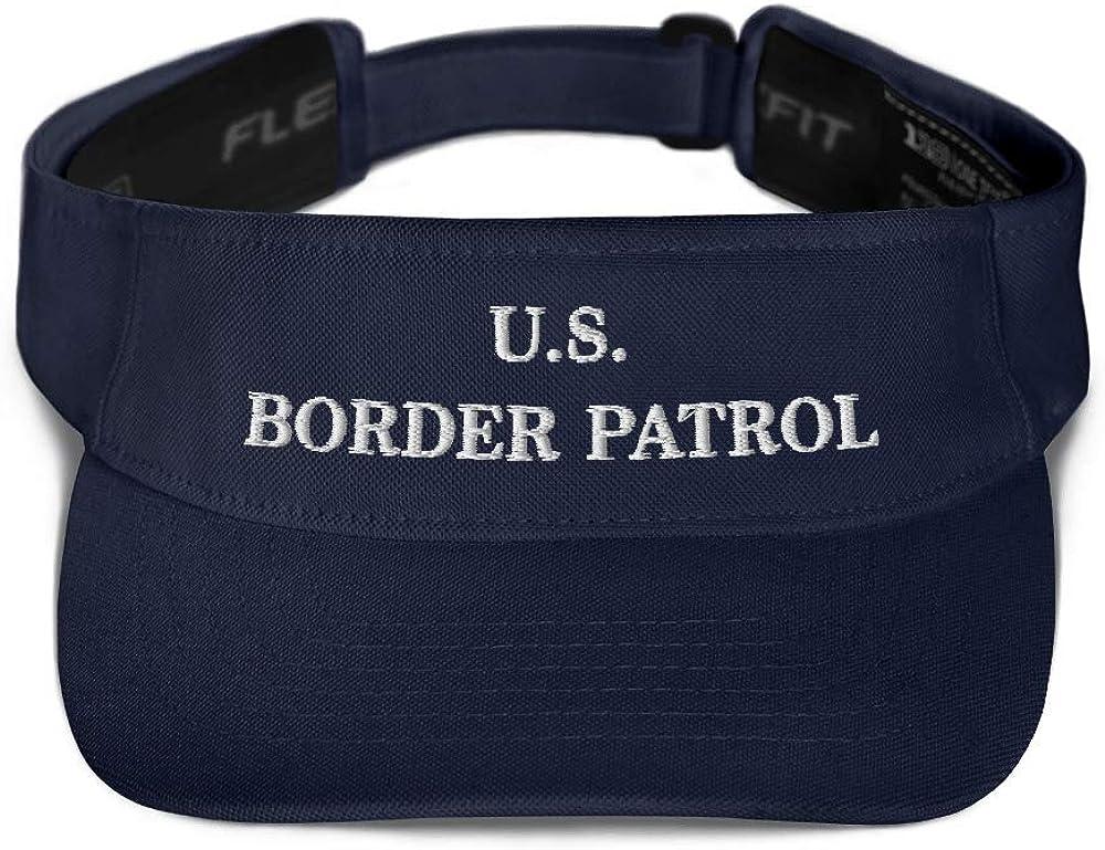 Hogue WS LLC US Border Patrol Hat (Embroidered Visor) Dept Homeland Security