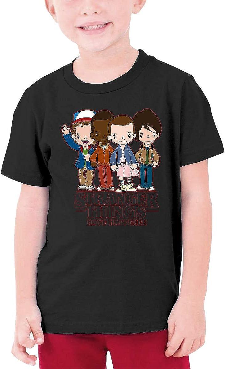 Alffe Stranger Things T-Shirt Boy Kids O-Neck 3D Printing Youth Fashion Tops