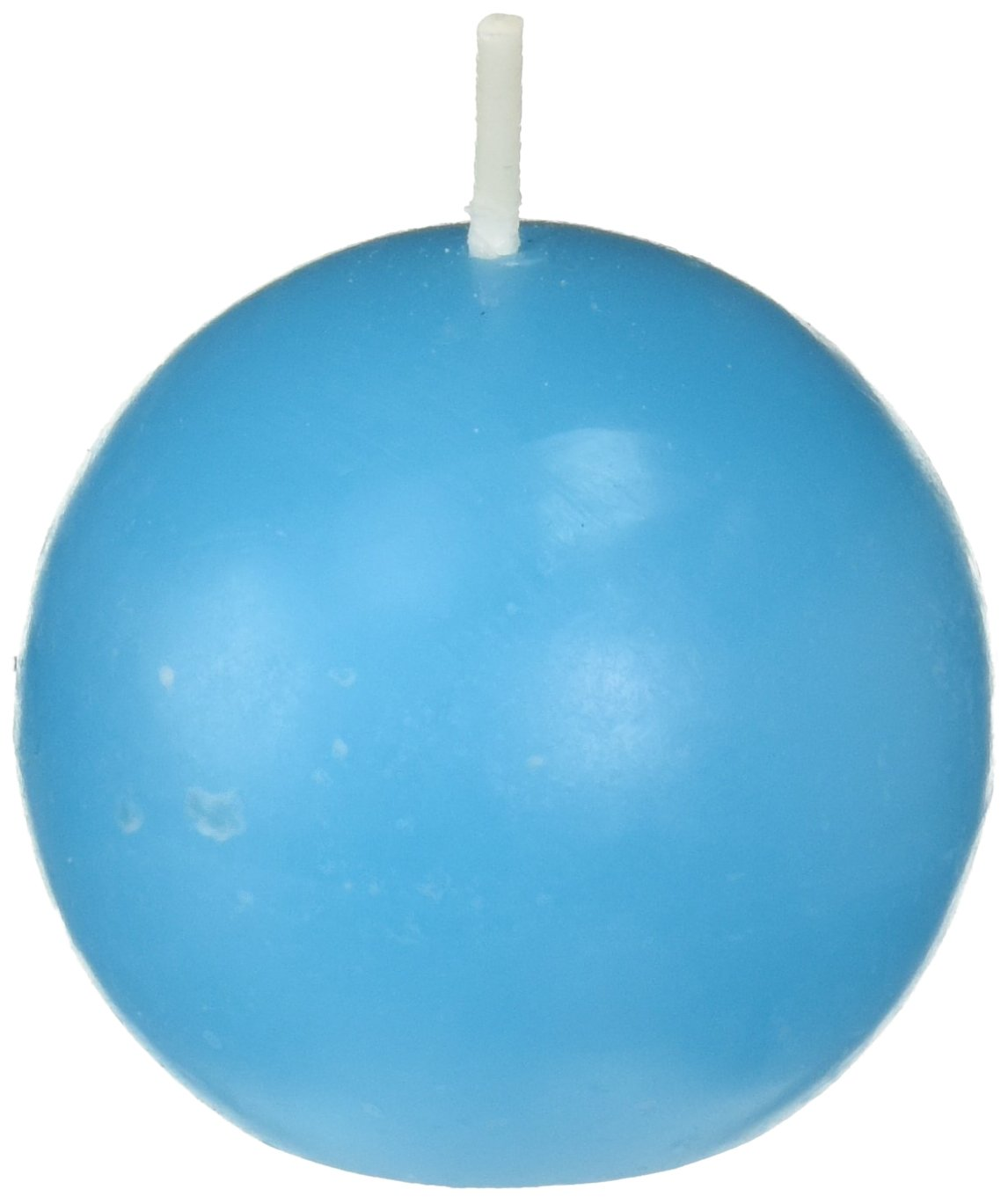Zest Candle 12-Piece Ball Candles, 2-Inch, Turquoise