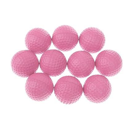 dovewill suave y elástico de espuma de poliuretano de pelotas de golf para la práctica de