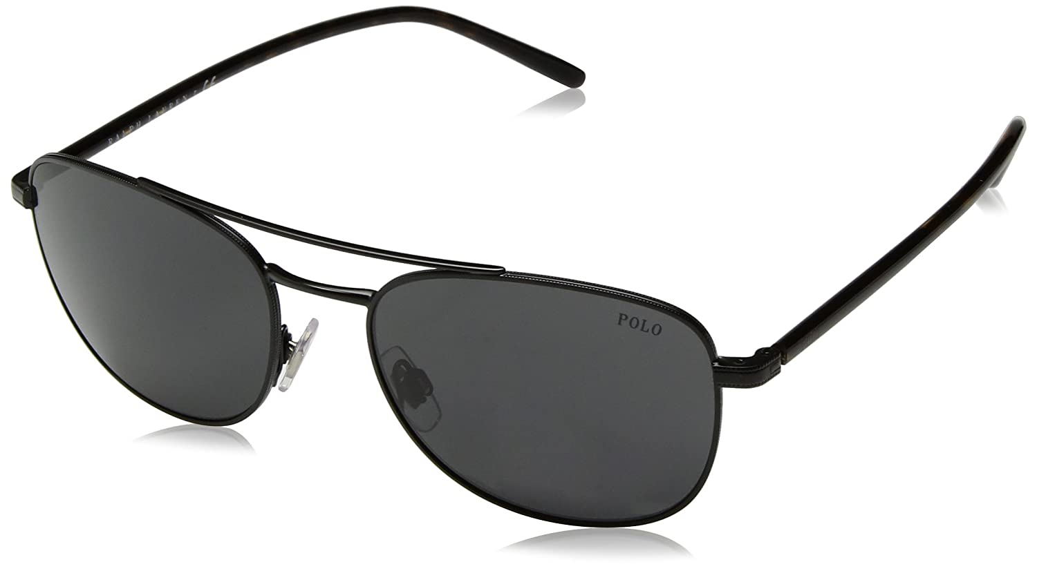 Ralph Lauren POLO 0PH3107 Gafas de sol, Semi Shiny Black, 55 ...