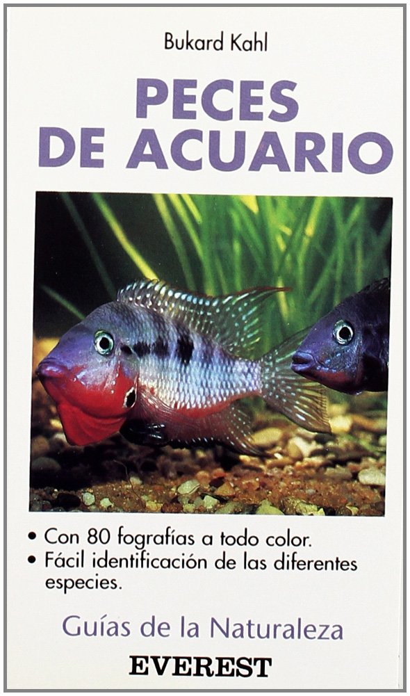 Peces de acuario (Guías de la naturaleza de bolsillo): Amazon.es: Kahl Burkard, Martínez Bernaldo de Quirós Fernando: Libros
