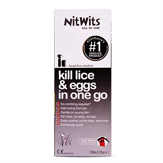 Nitwits All In One Head Lice Solution 120ml Amazon Health