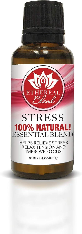 Ethereal Nature Blends 100% Natural Oil, Stress, 1 fl. oz.
