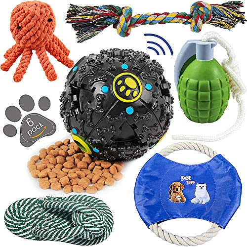 HETOO Dog Toys for Aggressive Chewers - Pet Toys for Dogs Indestructible - Dog Chews Toys - Best Teething Toys for Puppies - Dog Toys for Boredom-Dog Rope Toy-Puppy Toys-Dog Toys