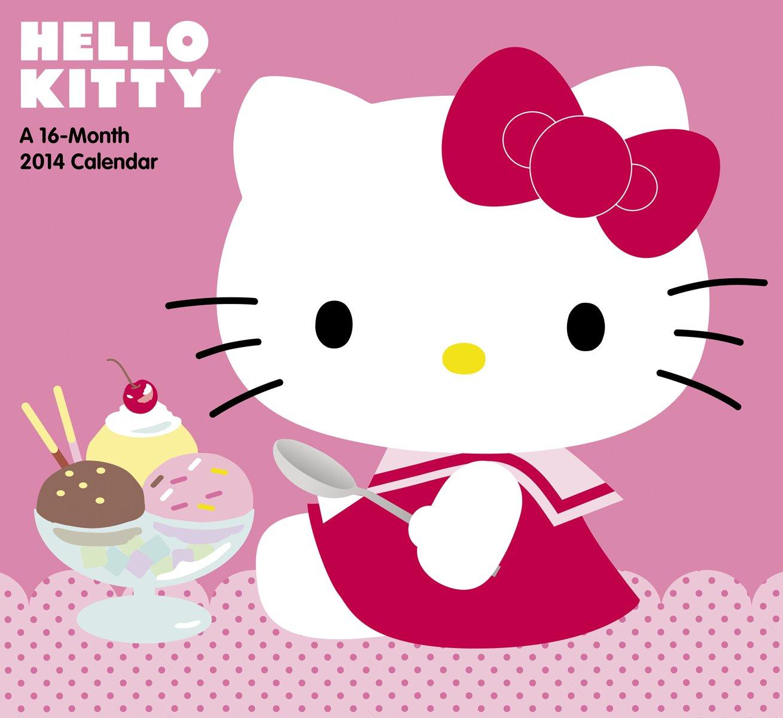 2014 Hello Kitty Wall Calendar Sanrio