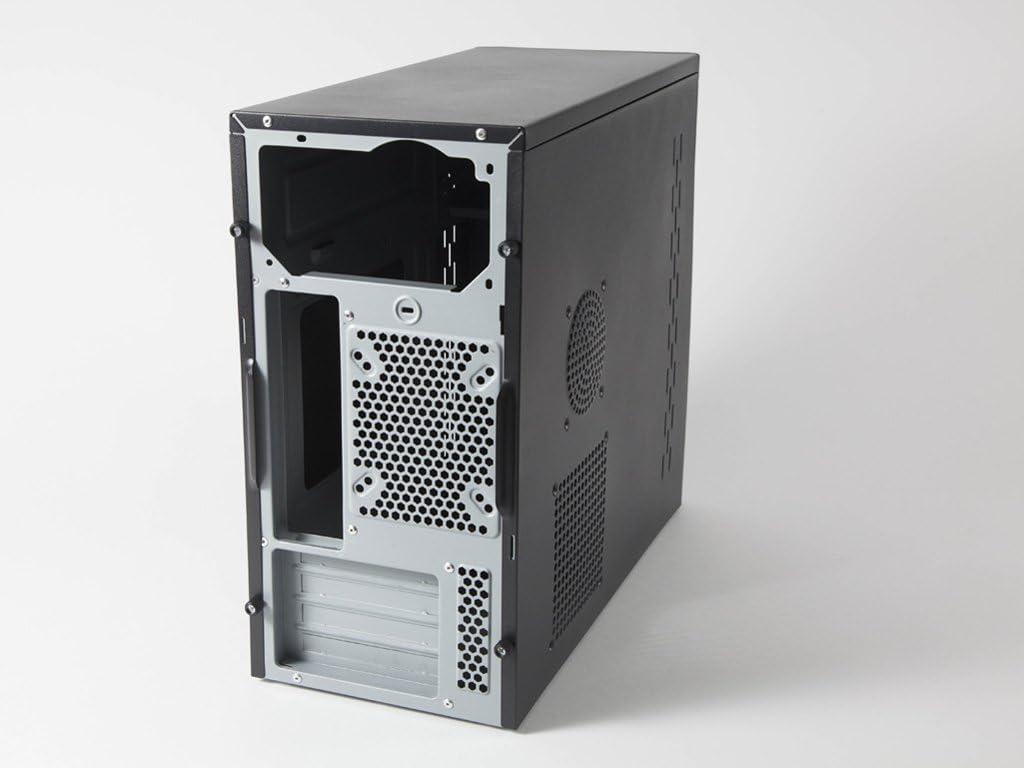 CoolBox M-650 Torre Negro Carcasa de Ordenador - Caja de Ordenador (Torre, PC, Metal, SECC, SPCC, Micro-ATX, Negro, Hogar/Oficina): Coolbox: Amazon.es: Informática