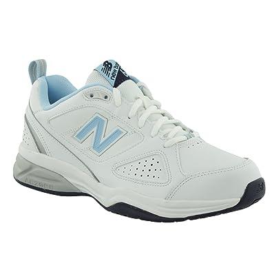 624 New Wb4 de Femme Fitness Balance Chaussures WhiteBlue Blanc pqqOwg6x