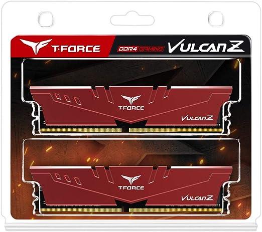 Team Group Vulcan Z Ddr4 16gb 2666mhz Cl18 1 2v Xmp Computer Zubehör