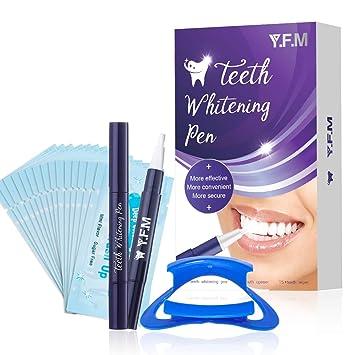 Amazon Com Teeth Whitening Pen 2 Pack Y F M Teeth Whitening