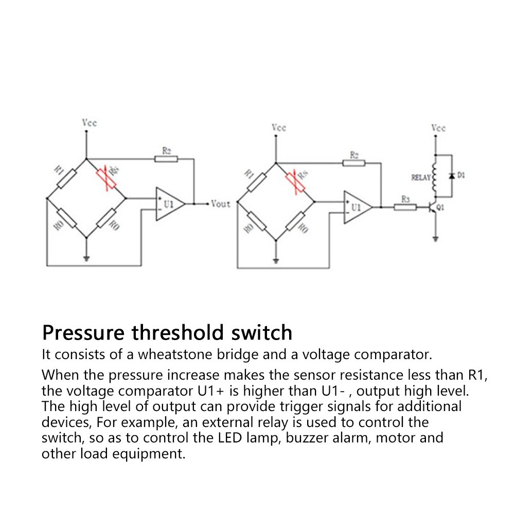 Sensore di Pressione Forza Flessibile Sensibile Intelligente RP-C18.3-ST Sensore di Pressione a Film Sottile