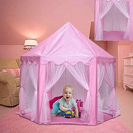 Henada Tienda de Campaña Princesa Rosa Tienda del Juego ...