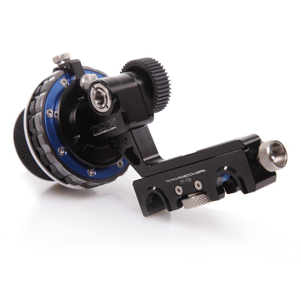 Tilta FF-T03 15mm Follow Focus with Hard Stops (Black) by Tilta