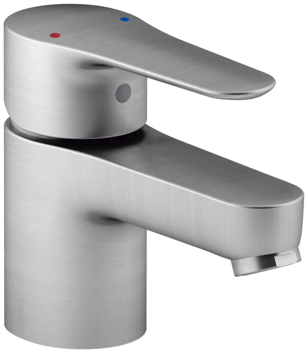 KOHLER K-16027-4-G July Single Handle Bathroom Sink Faucet, Brushed Chrome by Kohler