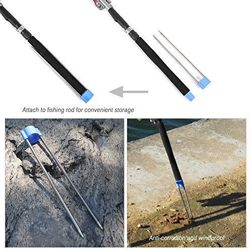 Bank stick fishing pole