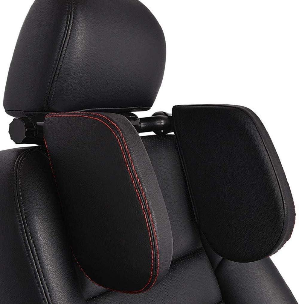plegable y montable ideal para viajar o dormir por la noche para ni/ños Reposacabezas para coche para el asiento del coche almohada para el cuello HausFine para el coche