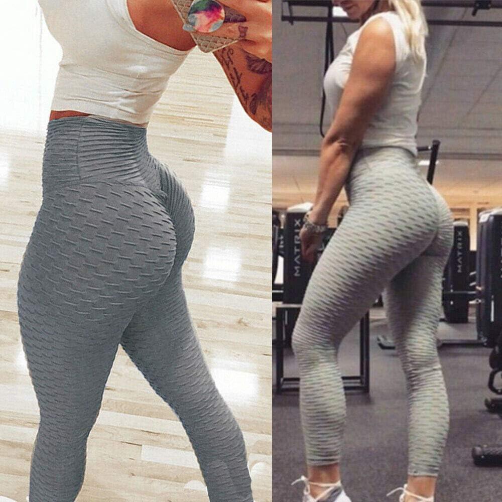 High Waist Yoga Leggings Soft Athletic Tummy Control Leggings for Yoga Running Cycling Workout SURMTON Yoga Pants for Women