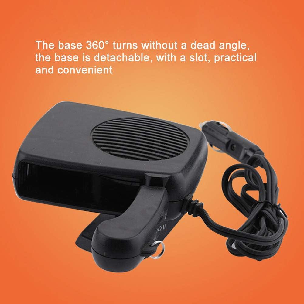 Semine Trinkbar Auto heizung Auto elektrische heizl/üfter windschutzscheibe bel/üftung defroster 12 v 24 v