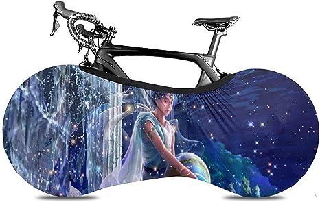 Cubierta De Bicicleta,Cubierta De Bicicleta De Bicicleta De Patrón De Acuario, Cubiertas De Bicicleta Únicas para Bicicletas De Montaña O Carretera: Amazon.es: Deportes y aire libre