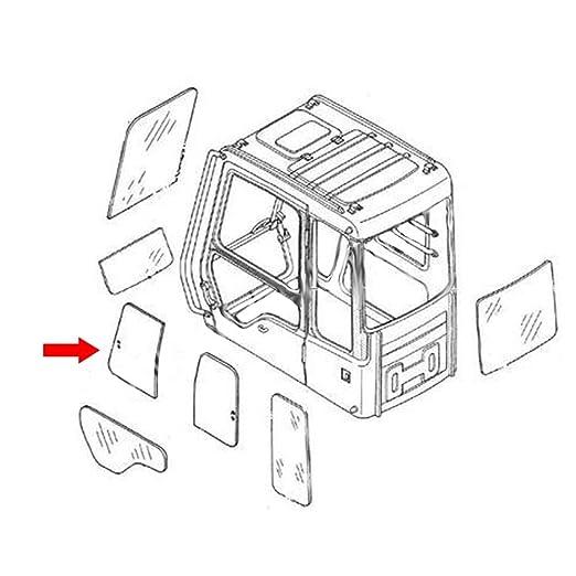 Amazon Com 4448308 Front Upper Door Slider Glass Made For Hitachi