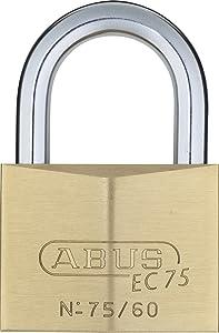 ABUS 75/60 Brass Padlock Keyed Different