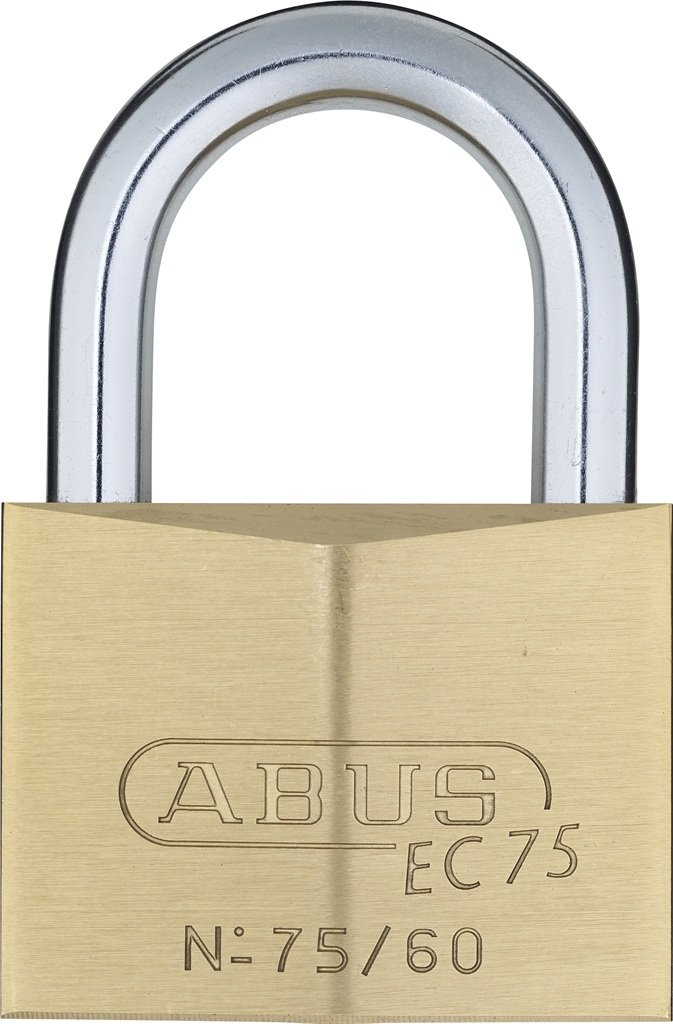 ABUS 75/60 KD B All Weather Solid Brass Keyed Different Padlock
