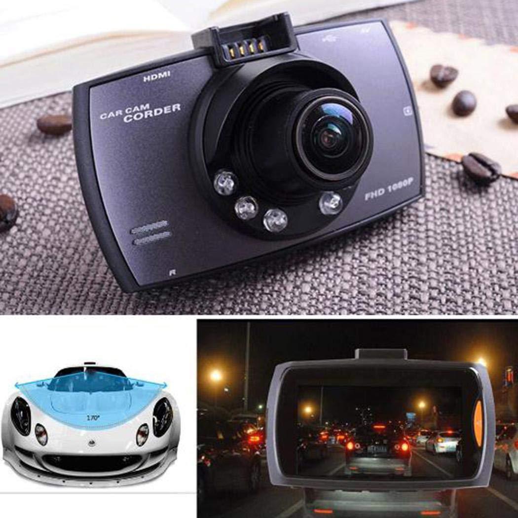 Jintes Durable y pr/áctica Pantalla LCD HD Lente Gran Angular Grabador de conducci/ón de autom/óviles C/ámaras