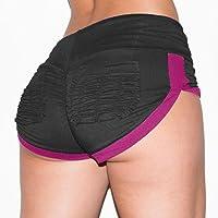 Shorts deportivos de bolsillo para mujeres Gym Workout