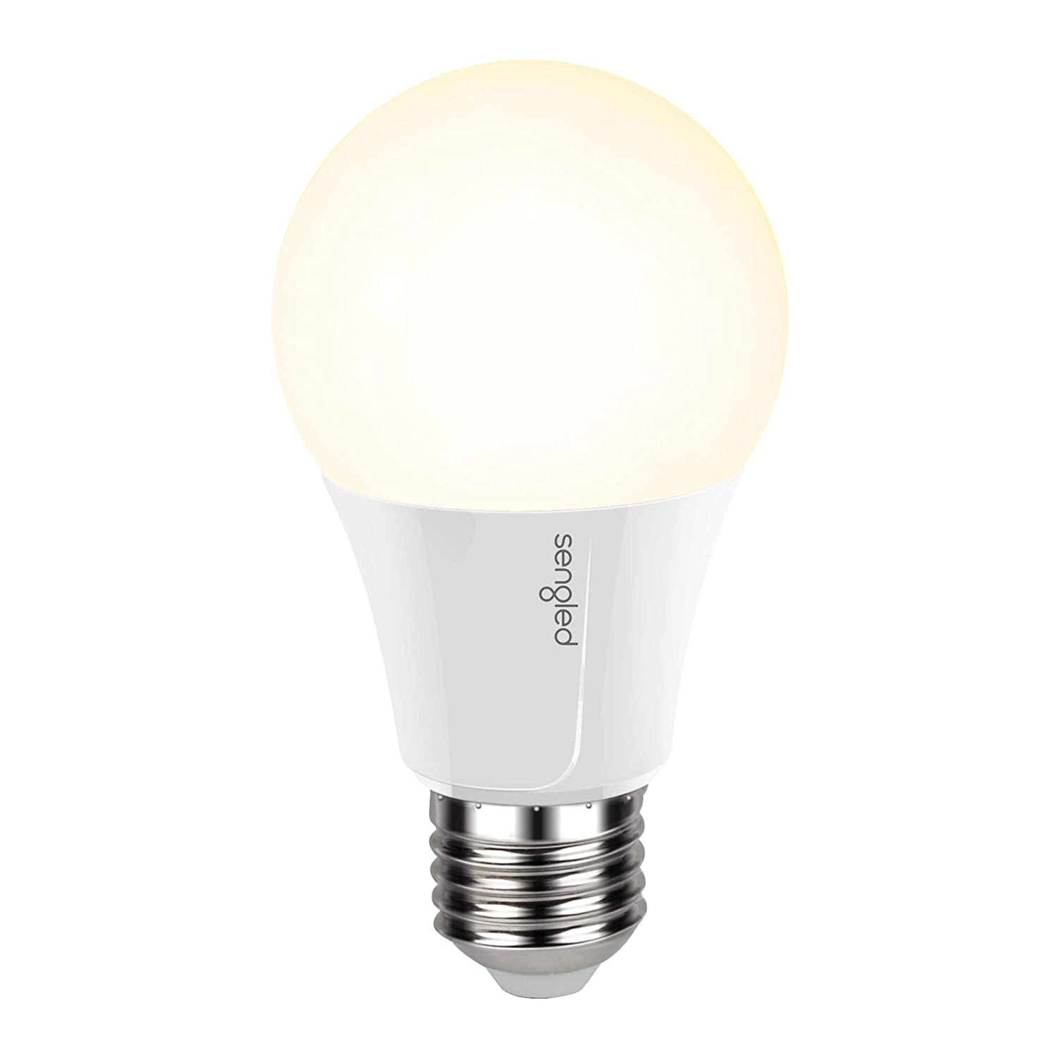 Sengled Smart Wi-Fi LED Soft White A19 Bulb, No Hub Required, 2700K, 60W Equivalent, Works with Alexa & Google Assistant, 1 Pack