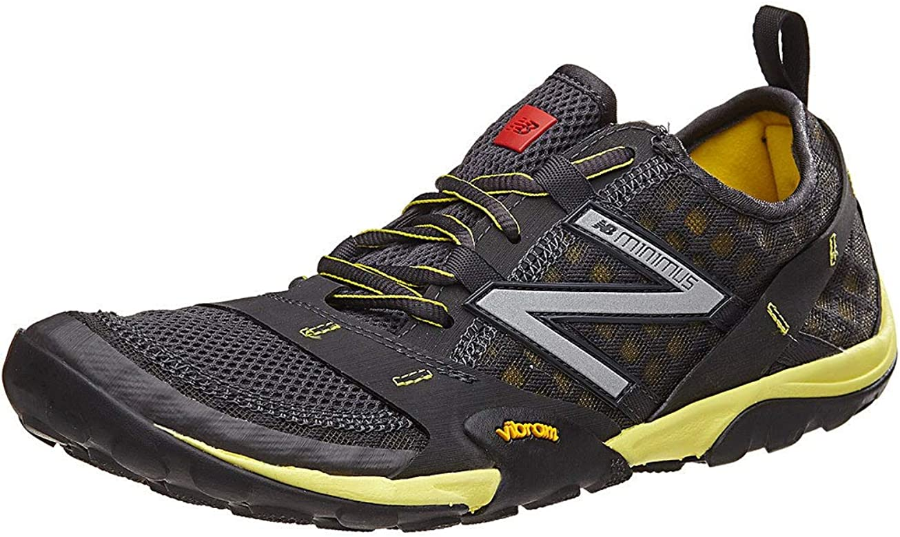 New Balance Mens MT10V1 Trail Running Shoe, Grey/Yellow, 8 2E US: New Balance: Amazon.es: Zapatos y complementos