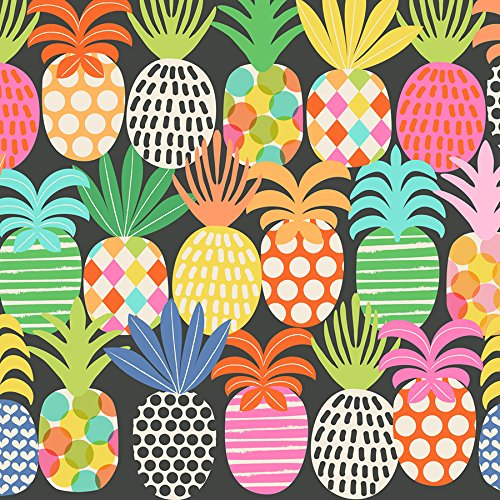 Pineapple Pop Gift Wrap Roll - 24'' x 15' by Party Explosions