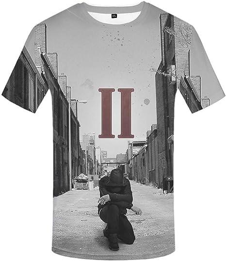 ZCYTIM Camiseta Hombre Personaje Camiseta Música 3D Camiseta Punk Rock tee Tinta Camisetas Divertidas Ropa para Hombre Fresca: Amazon.es: Deportes y aire libre