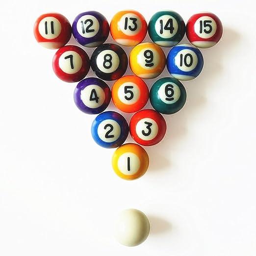 huayoung Juego completo en miniatura bolas de billar imanes de ...