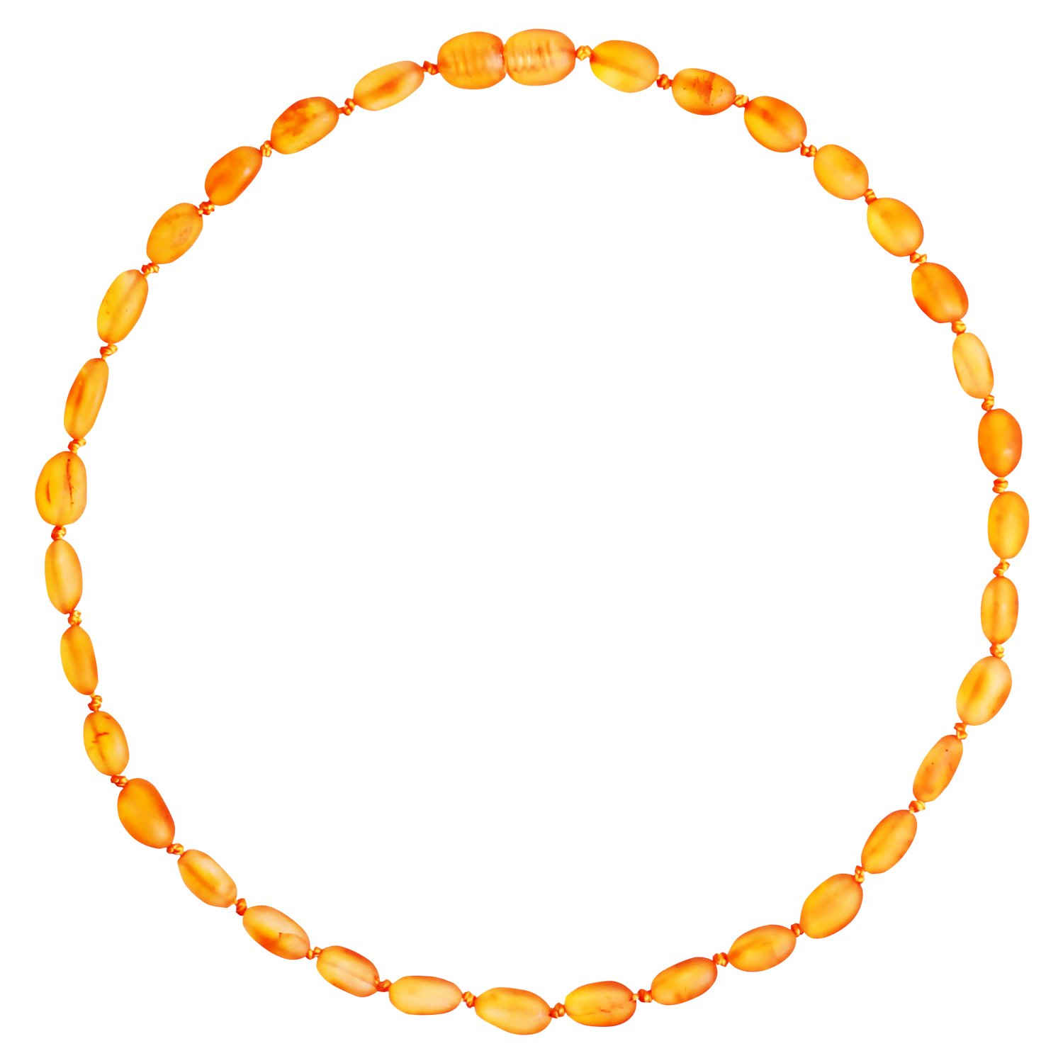 Authentic Amber Teething Necklace for Toddler Baby (Unisex – Raw Honey – 12.5 Inches), Unpolished Baltic Amber Teething Necklace – Natural remedy of inflammation, drool, molar& fussiness for Infant