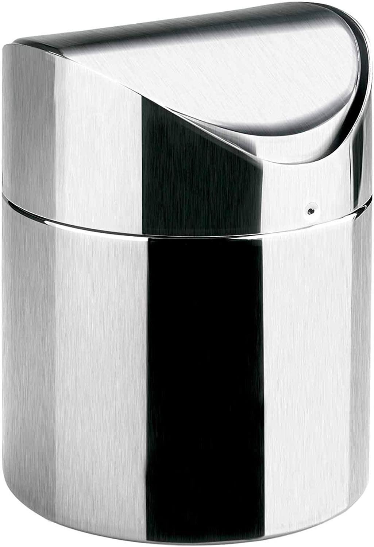 Lacor 63302 Pattumiera da tavola inox 12 x 16