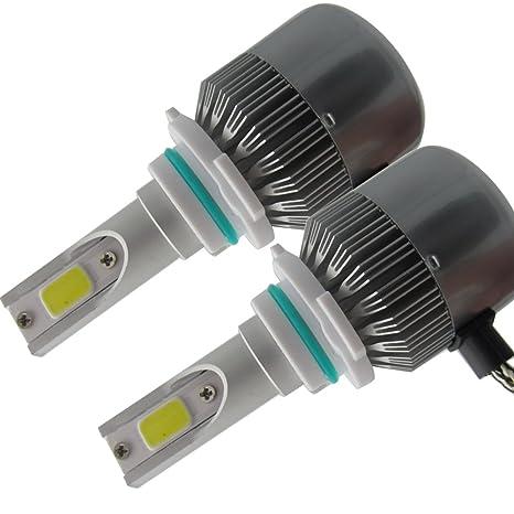 Amazon.com: SHINA 9006 HB4 LED Headlight Conversion Kit Car Beam Bulb Driving Lamp 6000K: Automotive