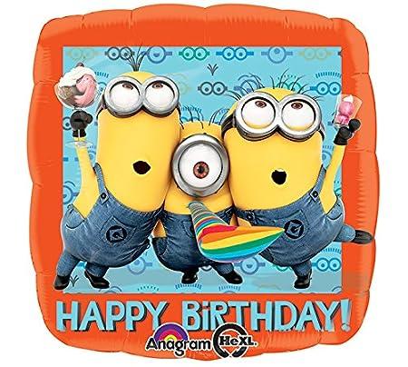 Globo * MINIONS * Para fiesta de cumpleaños o lema-fiesta ...