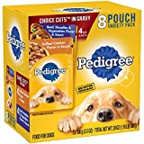 Cheap Pedigree Choice Cuts In Gravy Adult Wet Dog Food Variety Pack, (8) 3.5 Oz Pouches