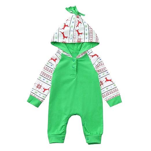 8ac2d65b5 Amazon.com  XEDUO Toddler Baby Boy Girl Christmas Cartoon Deer ...