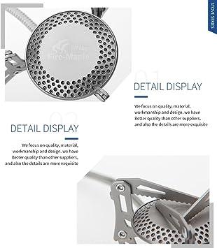 Fire-Maple hornillo de gas para Camping estufa de titanio fogón para Camping estufa de utensilios de cocina al aire libre 98 G