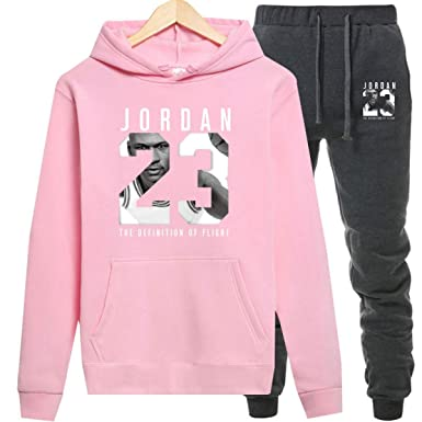 Jordan Hoodies Jordan 23 Sportwear Sets Male Sweatshirts Men Set Clothing+Pants at Amazon Mens Clothing store: