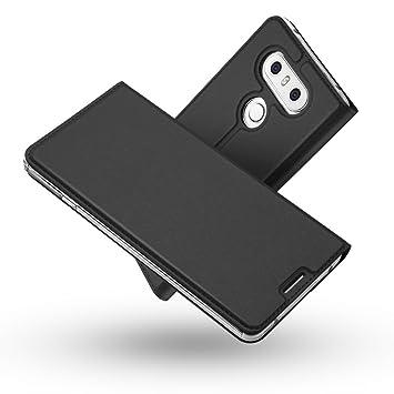 Funda LG G6,Radoo® Slim Case de Estilo Billetera Carcasa Libro de ...