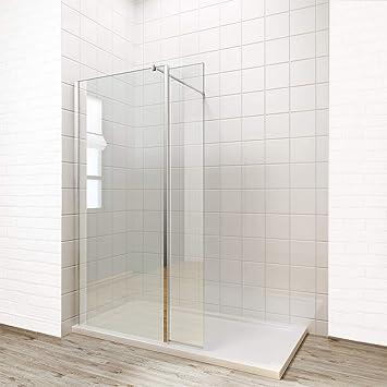 Einfach Zu Reinigen Walk In Duschkabine Wetroom Panel 8 Mm Glas